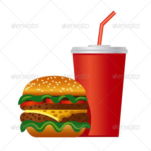GraphicRiver Hamburger 6990417