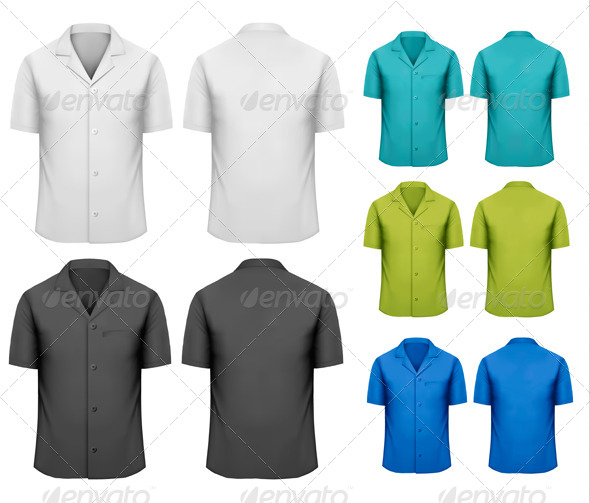 GraphicRiver Colorful Work Clothes 6990422
