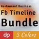 Restaurant Business FB Timeline Bundle | Volume 2 - GraphicRiver Item for Sale