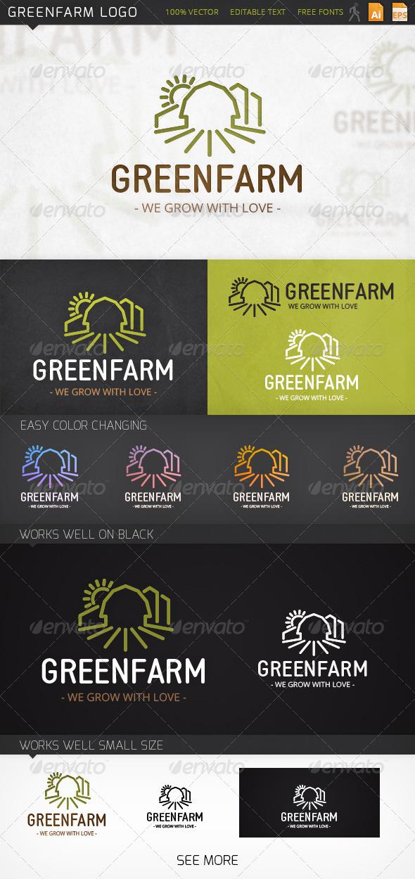 GraphicRiver Greenfarm Logo 6990741