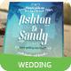 Beach Style Wedding Invitation Card - GraphicRiver Item for Sale