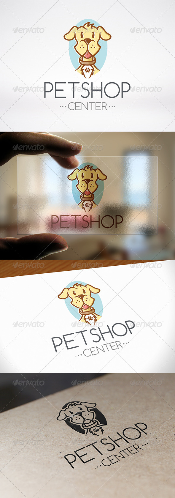GraphicRiver Pet Shop Logo Template 6991496