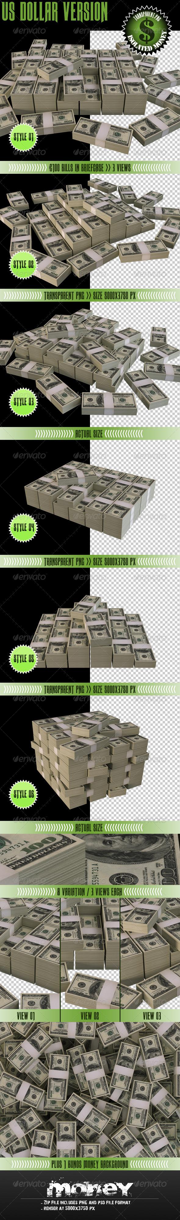 Money - Objects 3D Renders