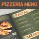 Pizzeria Restaurant Food Menu - GraphicRiver Item for Sale