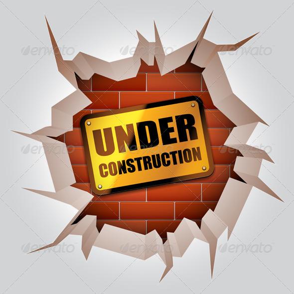 GraphicRiver Under Construction Concept 6992326