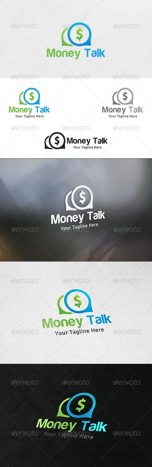 Money Talk Logo Template