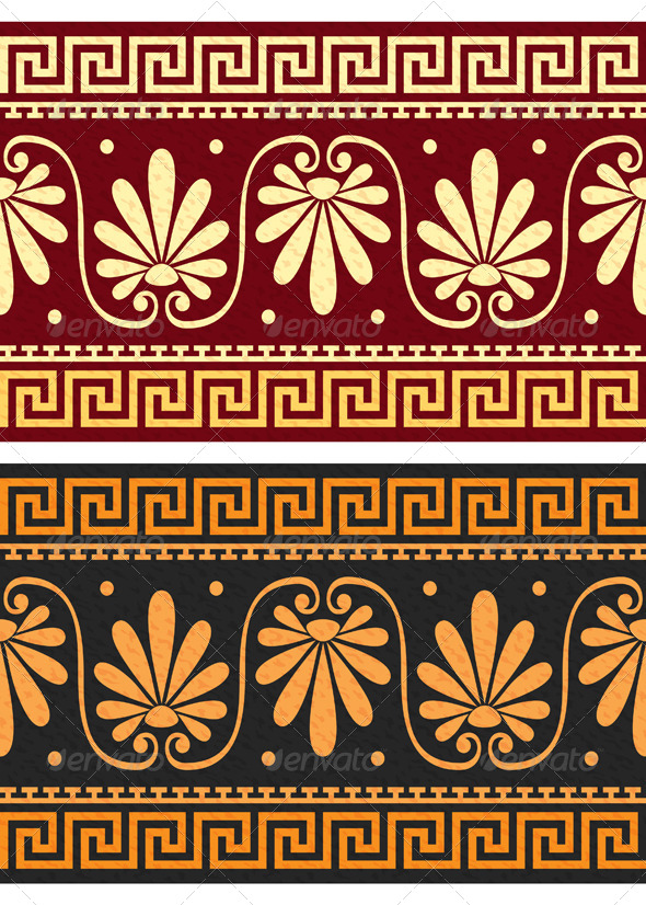 GraphicRiver Frieze with Greek Ornament 6992457