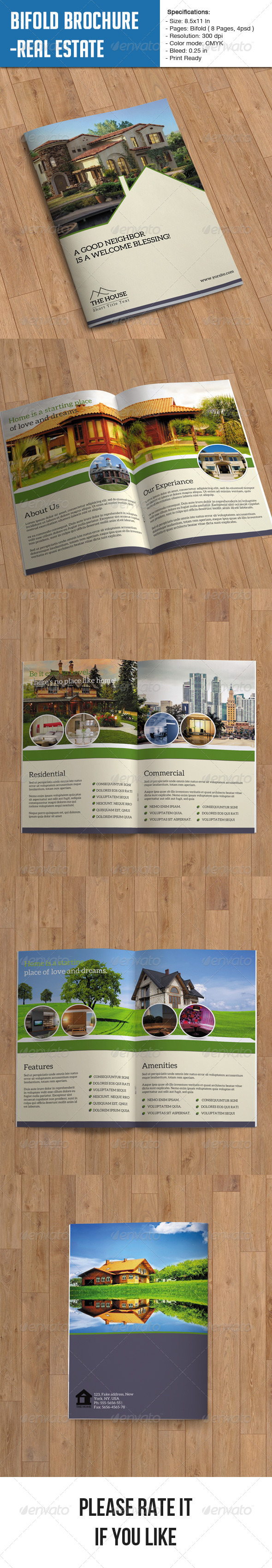GraphicRiver Real Estate Brochure 8 Page 6992971