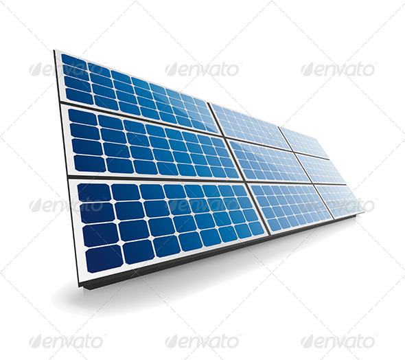 GraphicRiver Isolated Solar Panel 6993004