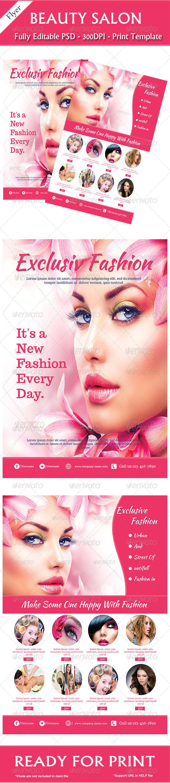GraphicRiver Fashion Flyer 6980188