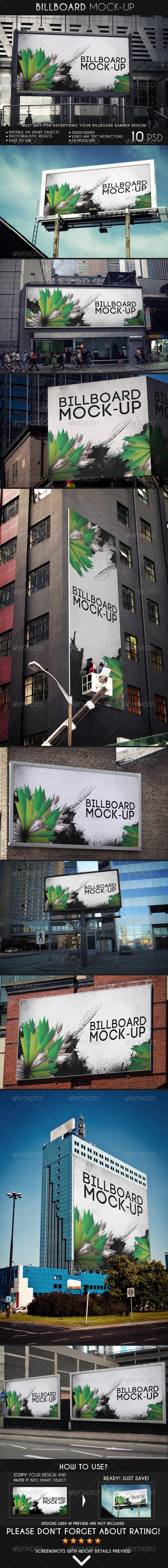 GraphicRiver Billboard Mock-Up 6993838