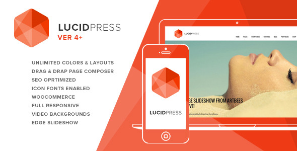 Lucid Press - Agency / Business WP Theme