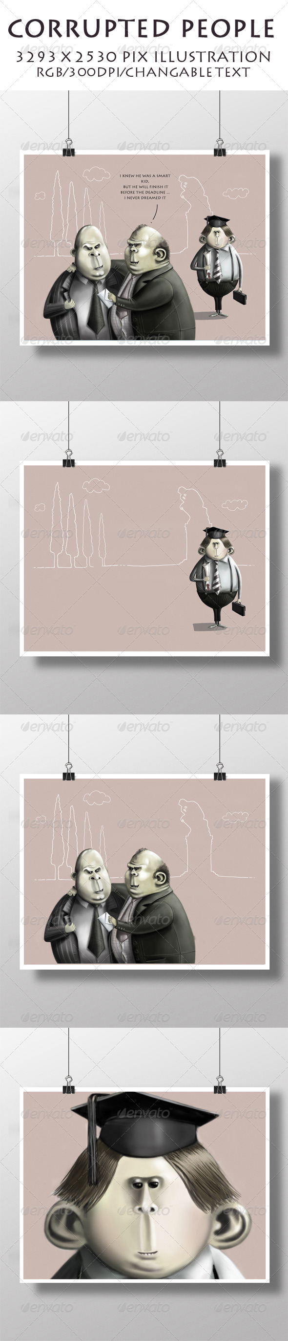 GraphicRiver Corrupted People 6994079