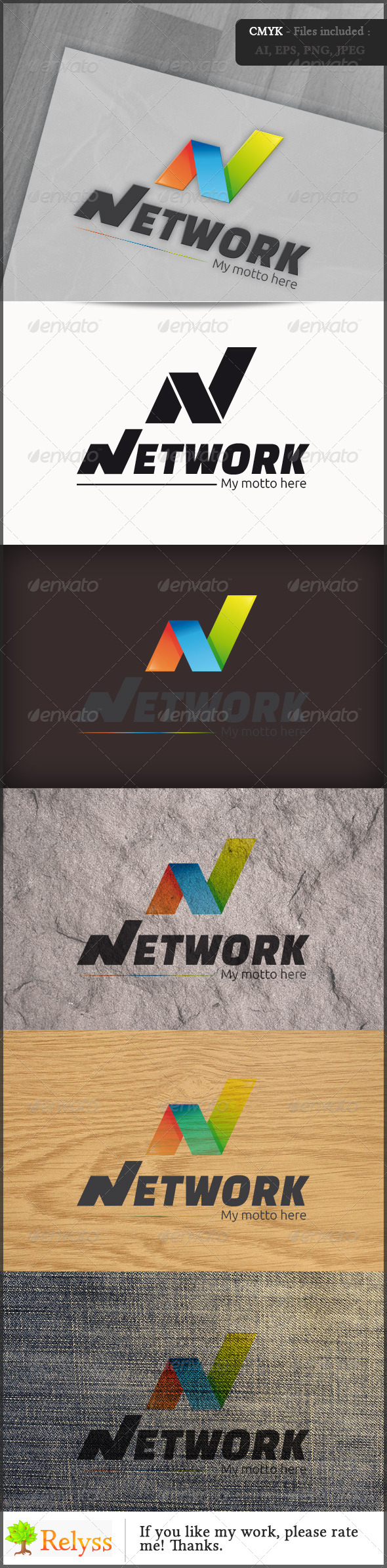 GraphicRiver Network Logo 6987098