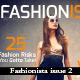 Fashionista Magazine Issue 2  - GraphicRiver Item for Sale
