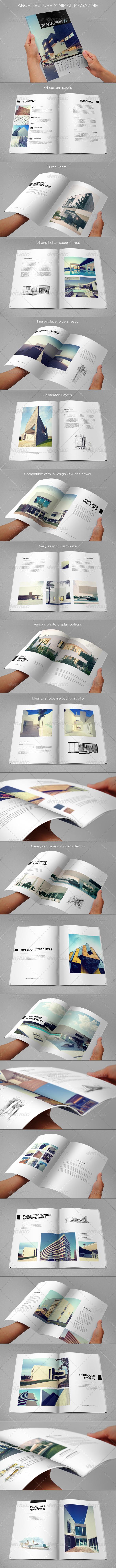 GraphicRiver Architecture Minimal Magazine 6982340