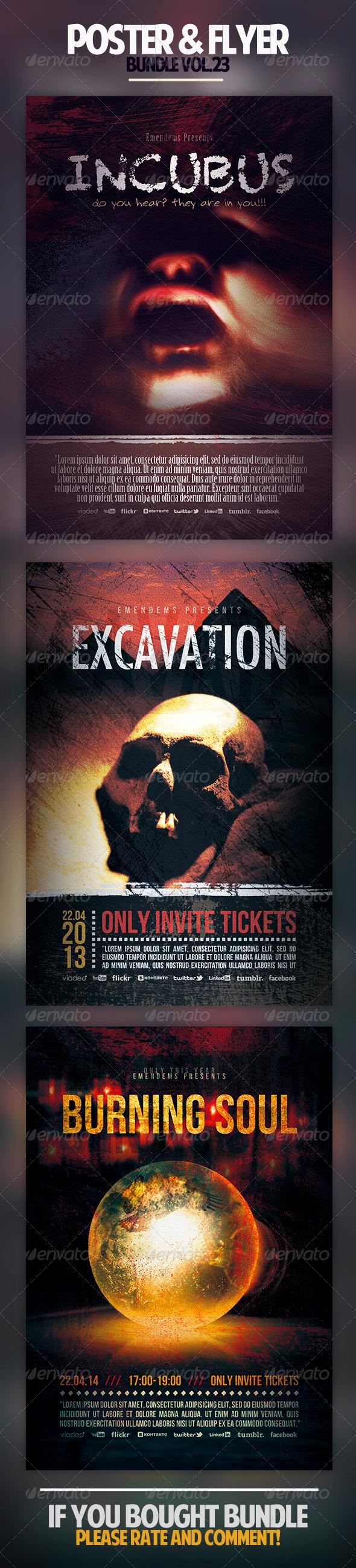 GraphicRiver Poster & Flyer Bundle Vol.23 6994401