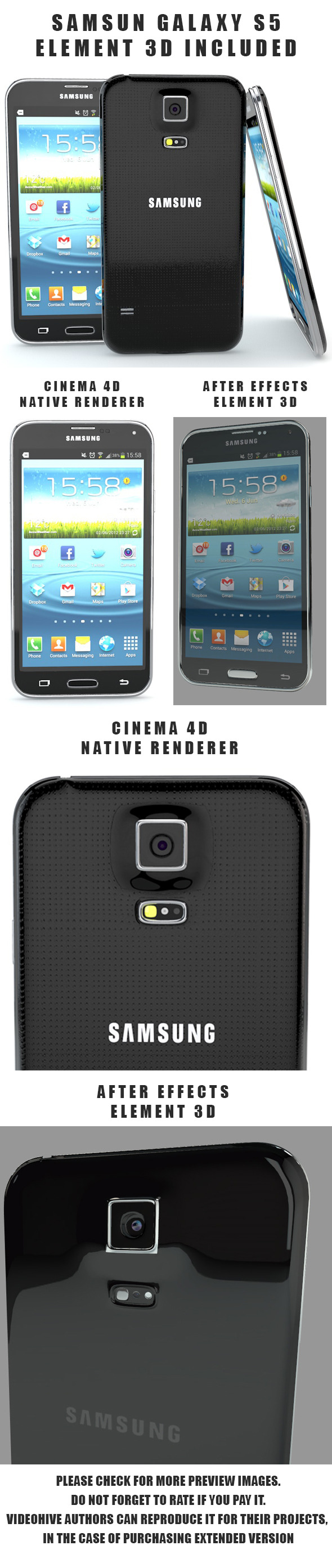 3DOcean Samsung Galaxy S5 6994574