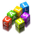 call us words made of colorful toy blocks - PhotoDune Item for Sale