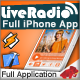 Single - Multiple Live Radios App for iPhone