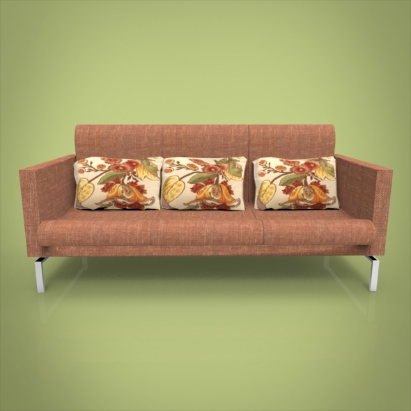 Rustic Sofa - 3DOcean Item for Sale