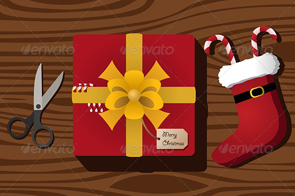GraphicRiver Christmas Present 6995484
