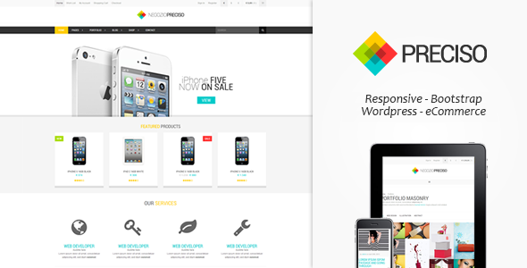 Preciso - Responsive E-Commerce Theme
