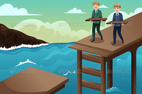 GraphicRiver Business Concept of Teamwork 6995910