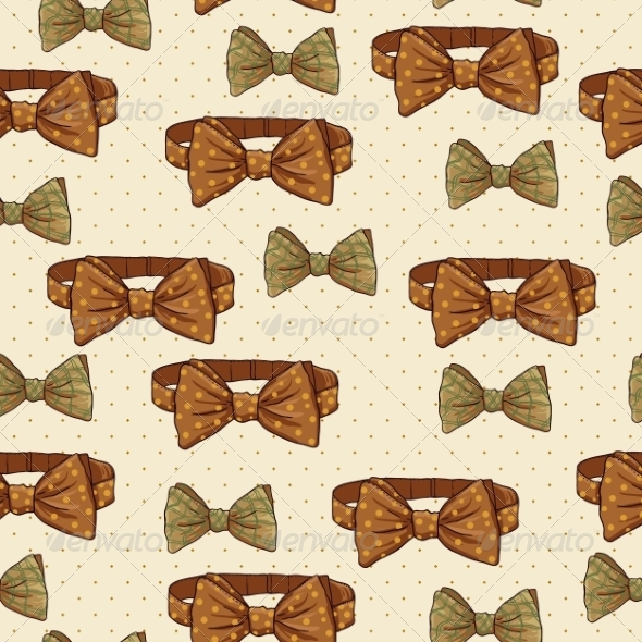 GraphicRiver Seamless Vintage Hipster Background 6996025