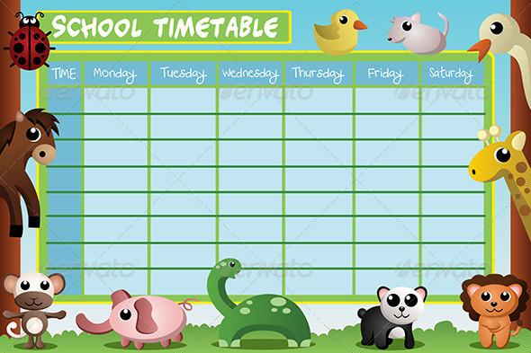 School Timetable Design