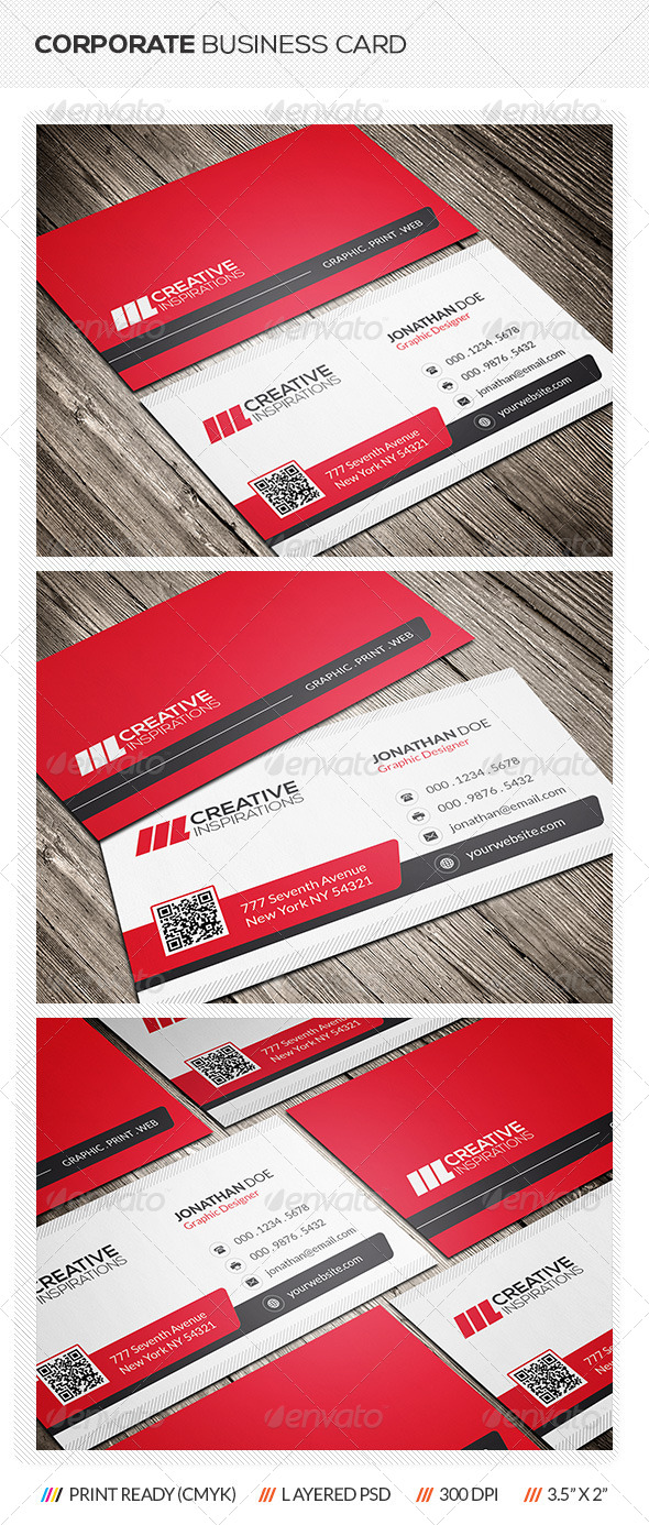 GraphicRiver Modern Business Card 6996572