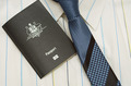 shirt tie and passport  - PhotoDune Item for Sale