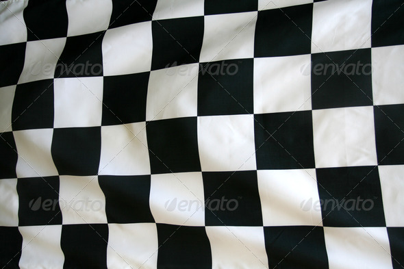 Stock Photo - PhotoDune Checkered Flag 732942