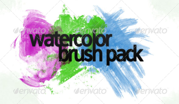 GraphicRiver Watercolor Brushpack 29222