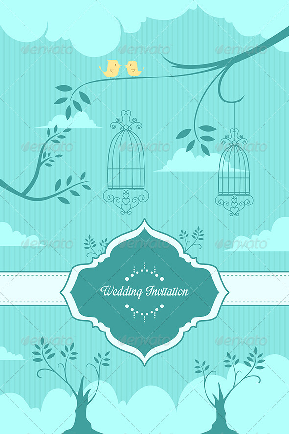 GraphicRiver Wedding Invitation 6997593