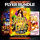 Mardi Gras Party Flyer Bundle - GraphicRiver Item for Sale