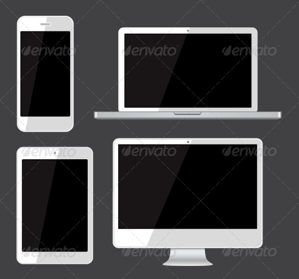 GraphicRiver Isolated Gadgets 6998962