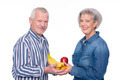 Senior couple with food - PhotoDune Item for Sale