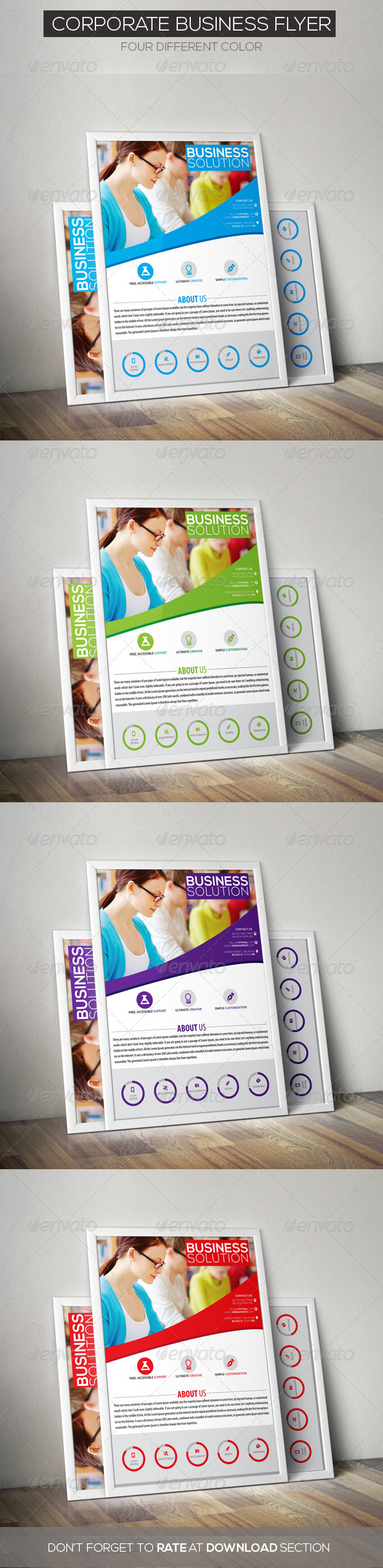 GraphicRiver Corporate Business Flyer 6999766