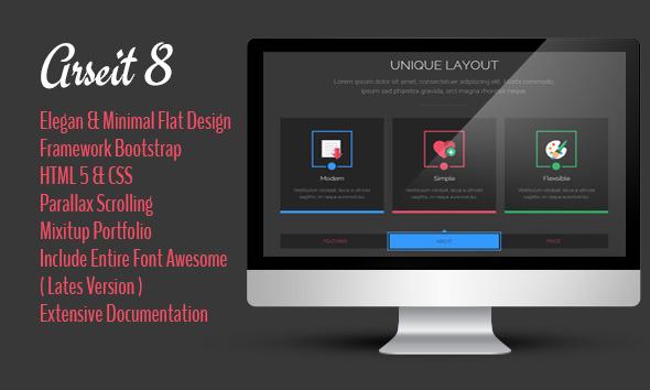 Arseit - Onepage Creative Bootstrap