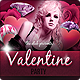 Valentine Party Facebook Timeline Cover - GraphicRiver Item for Sale