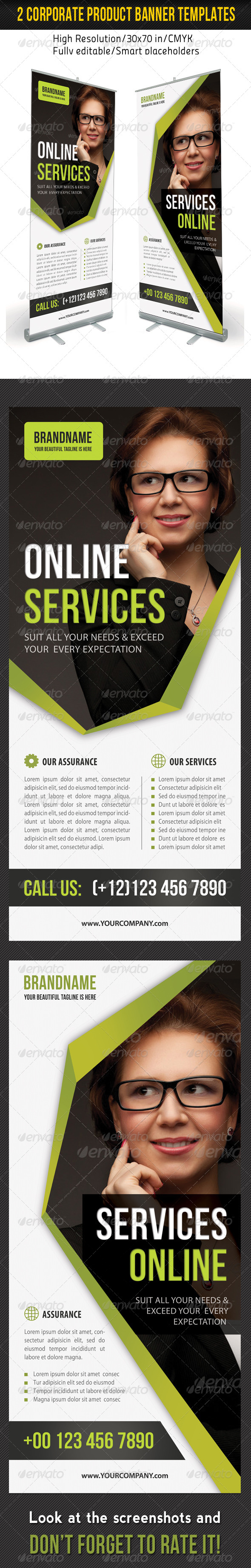 GraphicRiver Corporate Multipurpose Banner Template 41 7001115