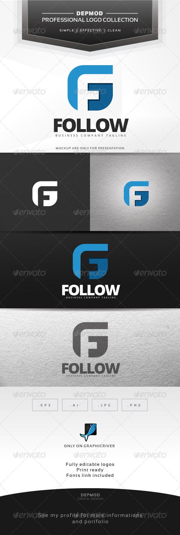 GraphicRiver Follow Logo 7001116