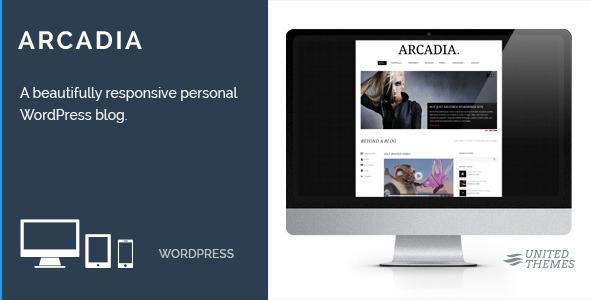 Arcadia - Responsive WordPress Blog - Blog / Magazine WordPress