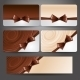 Gift Card with Chocolate Bow and Whirlpool - GraphicRiver Item for Sale