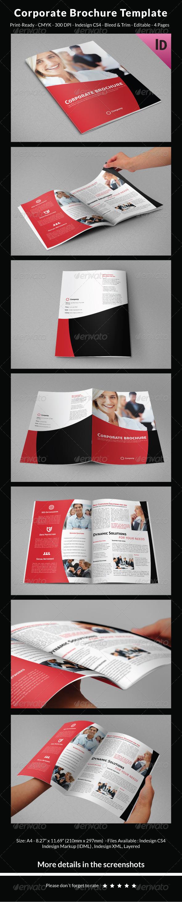 GraphicRiver Corporate Brochure Template 6501546