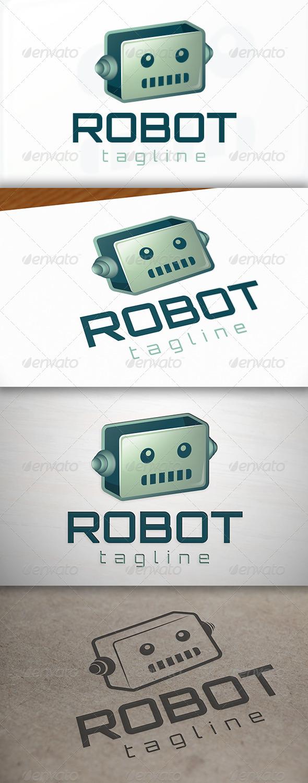 GraphicRiver Robot Logo 7002237