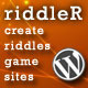 Riddler: Create Your Own Brain Teasing Game Sites