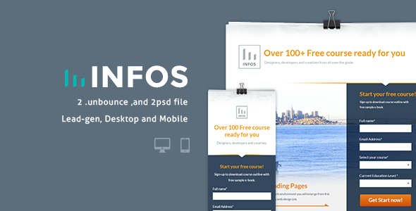 Infos - Unbounce Lead-Gen - Unbounce Landing Pages Marketing