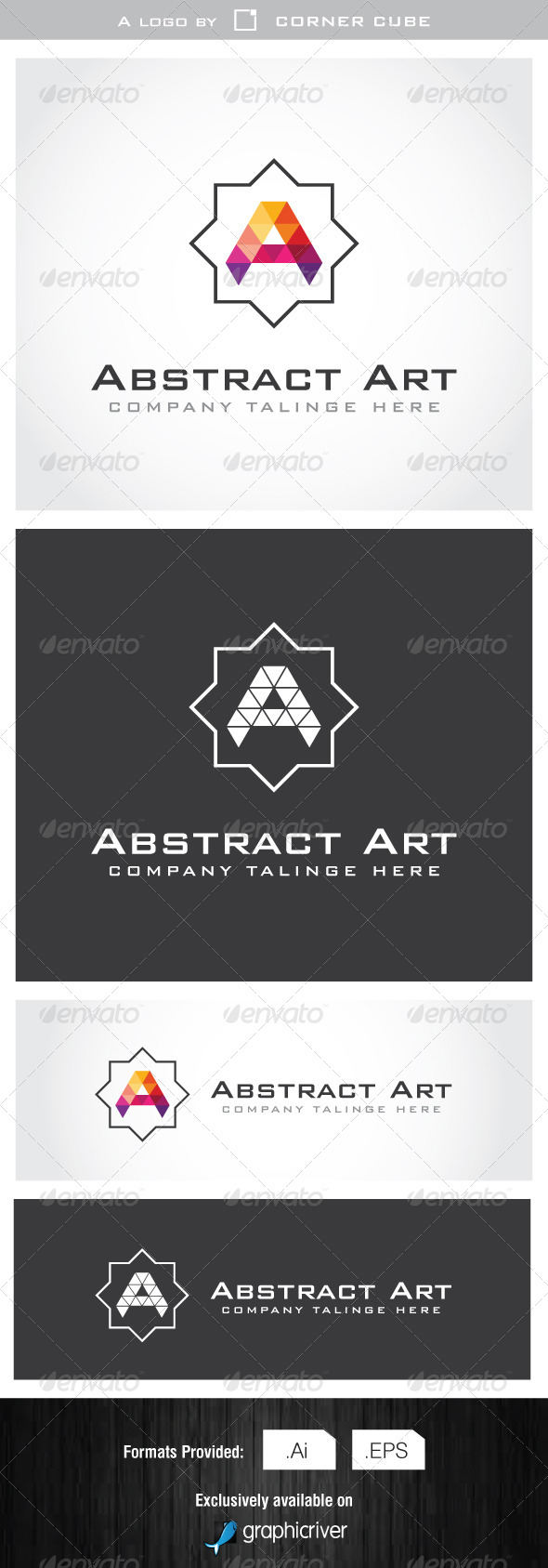 GraphicRiver Abstract Art Logo 7002616